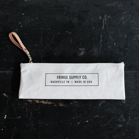 Fringe Supply Co. canvas tool pouch