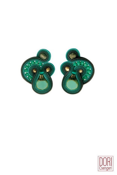 Cythera Turquoise Clips