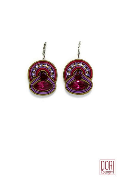 Cerise Casual Earrings