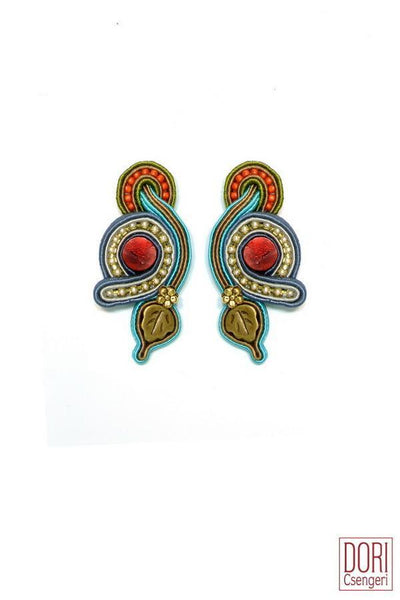Amalfi Clip On Earrings