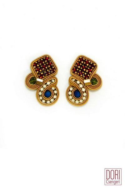 Debonair Clip On Earrings