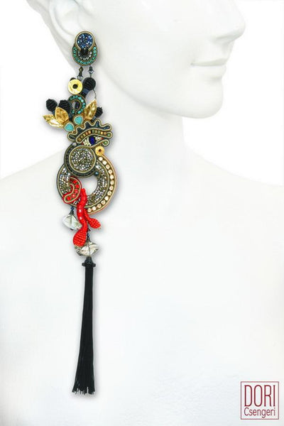 Venetian Dream Asymmetrical Earrings