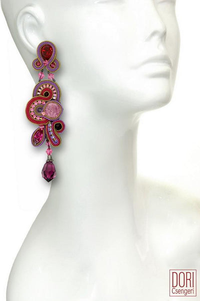 Cerise Couture Earrings