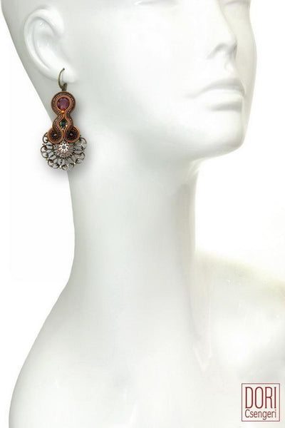 Florence Ornate Earrings