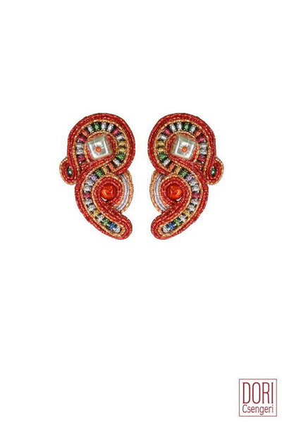 Fireworks Unique Clip-on Earrings