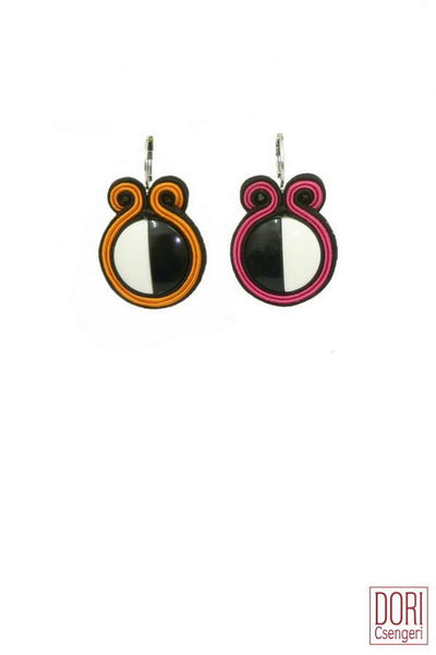 Nora Two-Color Everyday Earrings