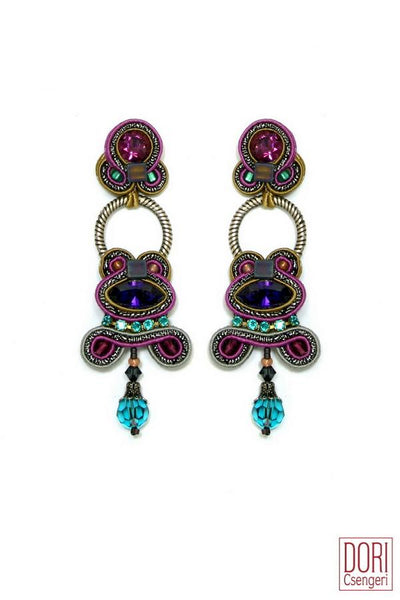 Night Out Dangling Earrings