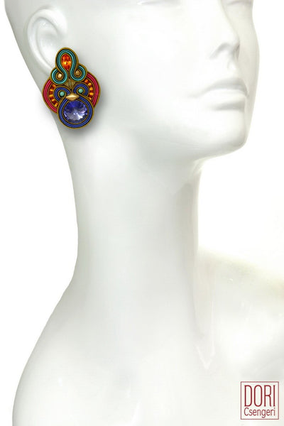 Valse Clip On Earrings