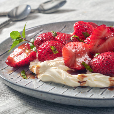 Balsamic Glazed Strawberries