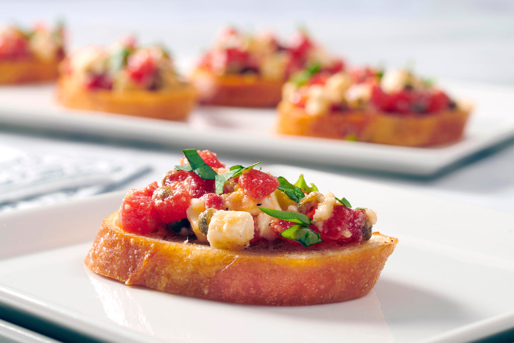 Botticelli Recipe Bruschetta Fire Roasted Peppers
