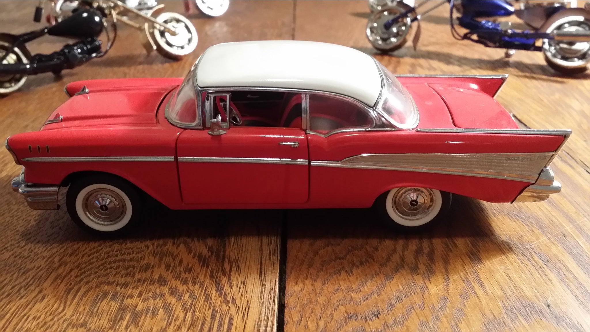 1957 Chevy Bel Air 2 Door Hardtop Chevrolet V8 Rides Drives Load Image Into Gallery Viewer