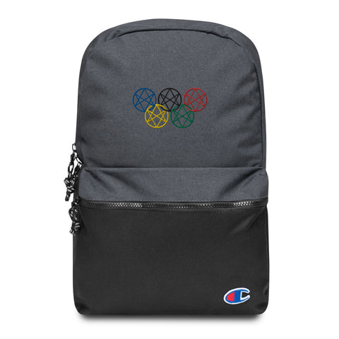 Shadow Realm Olympics Embroidered Champion Backpack
