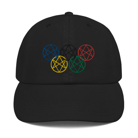 Shadow Realm Olympics Champion Dad Cap
