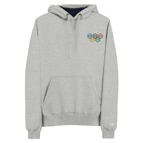 Shadow Realm Olympics Embroidered Champion Hoodie