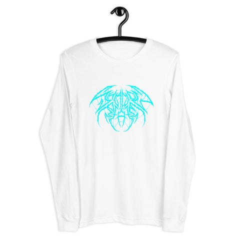 Metal Unisex Long Sleeve - Teal