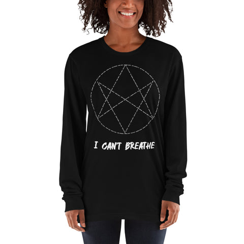 I can't breathe Long sleeve t-shirt