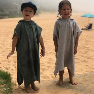 KIDS PONCHO TOWEL 3-6 YRS