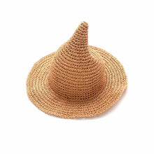 Load image into Gallery viewer, WIZARD PAPER STRAW HAT