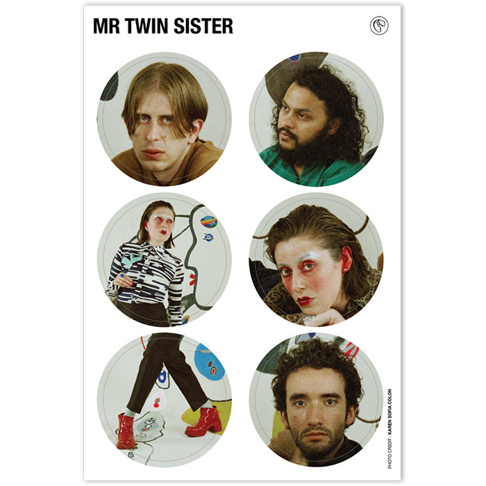 Mr Twin Sister Sticker Sheet