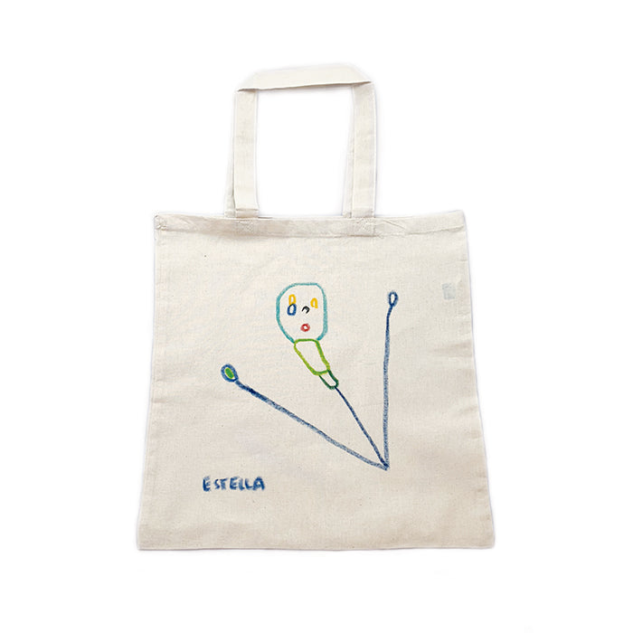 Hand Drawn Salt Tote