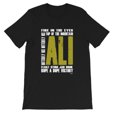 ALI Gold Short-Sleeve Unisex T-Shirt