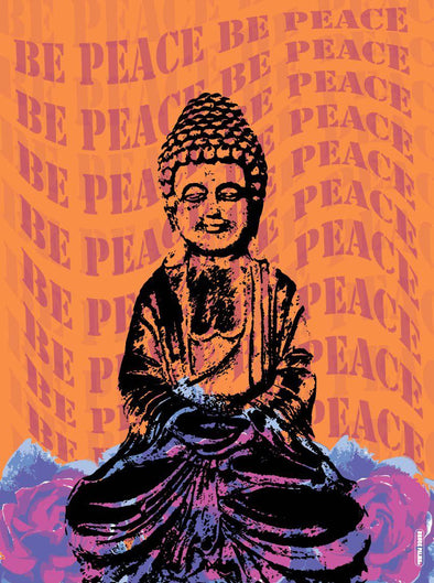 Be Peace Poster