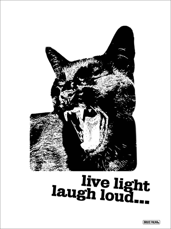 Live Light, Laugh Loud Poster