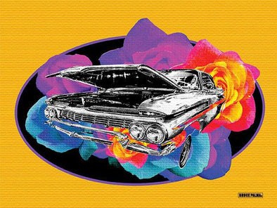 Lowrider Rosy Poster