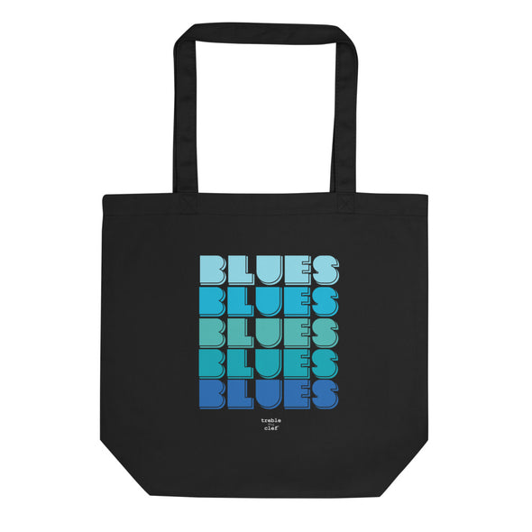 Blues Magic Organic Tote Bag