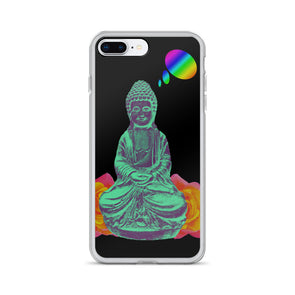 Daydreaming Buddha iPhone Case