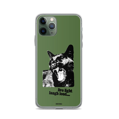 Live Light, Laugh Loud iPhone Case