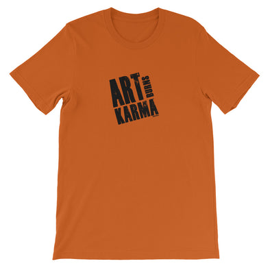Art Burns Karma Short-Sleeve Unisex T-Shirt