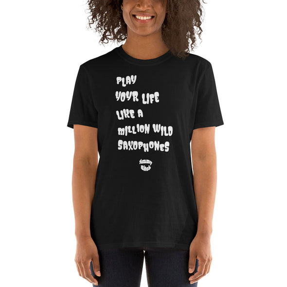 Play Your Life Short-Sleeve Unisex T-Shirt