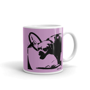 Hot Rod Pink Dog Mug