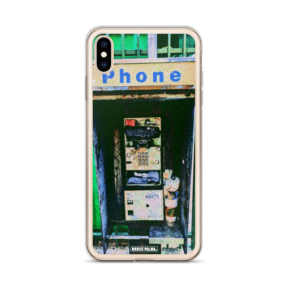 The Pay Phone iPhone Case