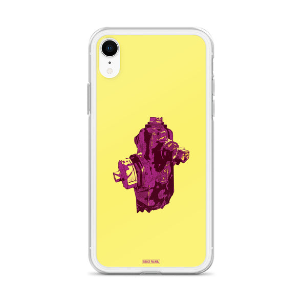 The Purple Hydrant iPhone Case