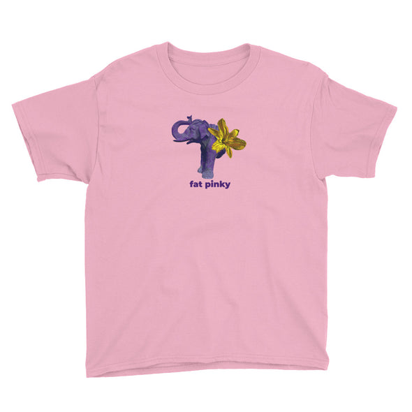 Purple Billy Youth Short Sleeve T-Shirt