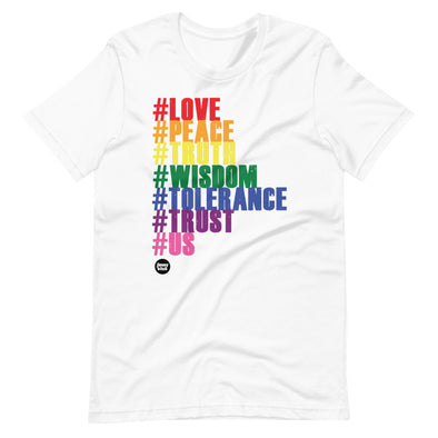 HASHTAG RAINBOW Short-Sleeve Unisex T-Shirt