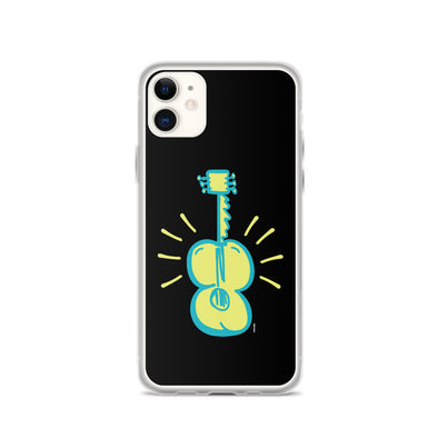 Heavy Busted Guitar iPhone Case