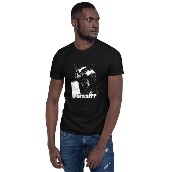Kitty Talk Black Short-Sleeve Unisex T-Shirt