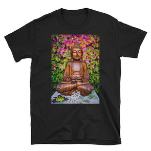 Autumn Buddha Unisex T-Shirt-Fat Pinky