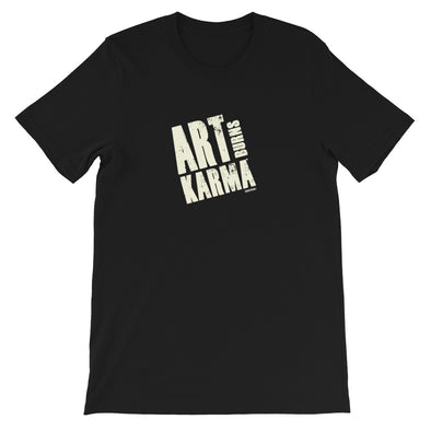 Art Burns Karma Black Short-Sleeve Unisex T-Shirt
