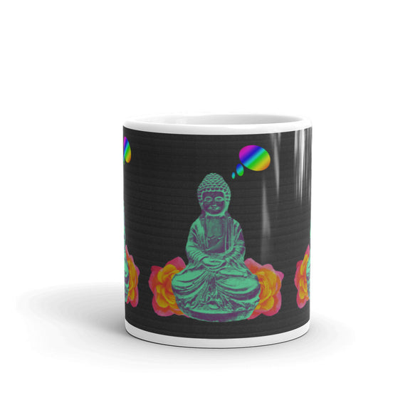 Daydreaming Buddha Mug