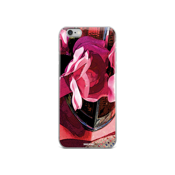 Red Light Rose iPhone Case