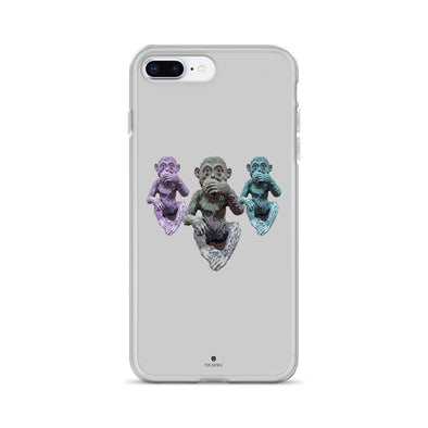 3 Chimps iPhone Case