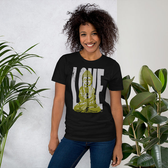 Love + Peace Short-Sleeve Unisex T-Shirt