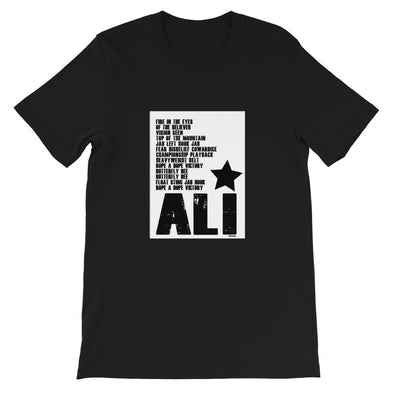 Ali Short-Sleeve Unisex T-Shirt