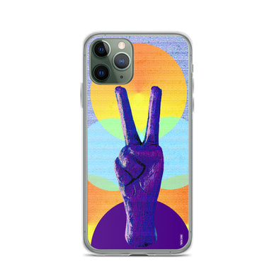 Peace Circles iPhone Case