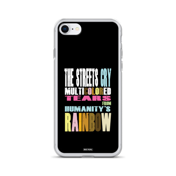 The Streets Cry iPhone Case