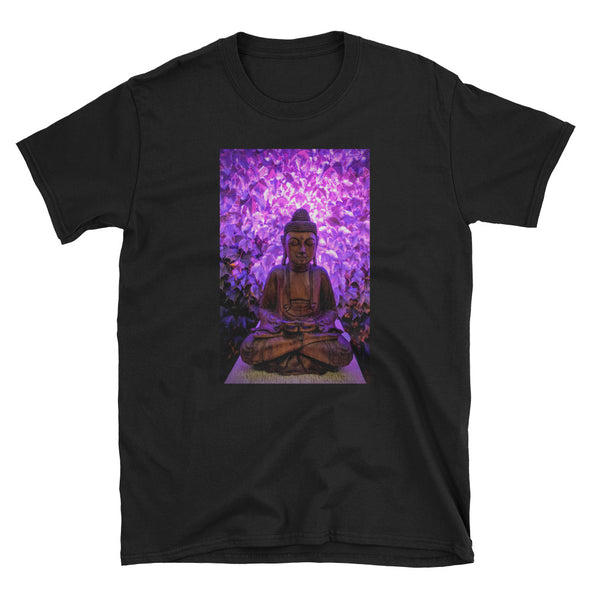 Purple Buddha Unisex T-Shirt-Fat Pinky